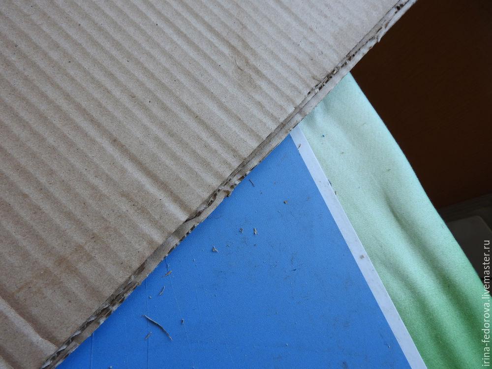 доски из картона