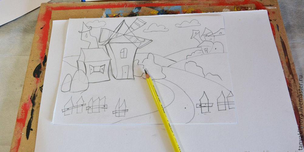 Развиваем детей с помощью аппликации «сказочный город», фото № 2