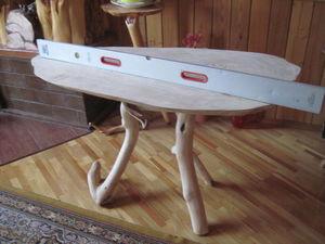 Замена столешницы оригинального обеденного стола с реставрацией подстолья. Часть 2:  заключительная. Ярмарка Мастеров - ручная работа, handmade.