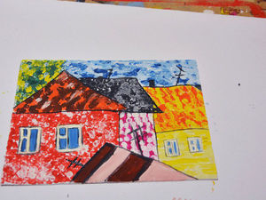 Рисуем яркую картинку для маленьких детей. Ярмарка Мастеров - ручная работа, handmade.