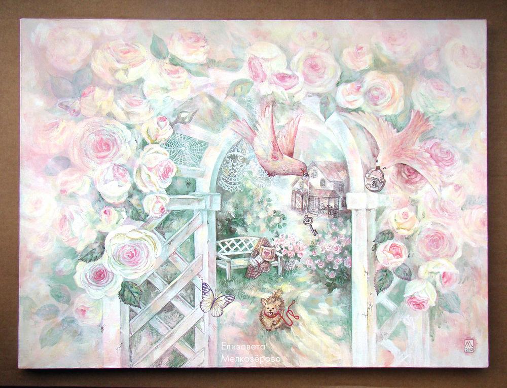 пастельный светлый, интерьер гостиная спальня, паутина кружево сад