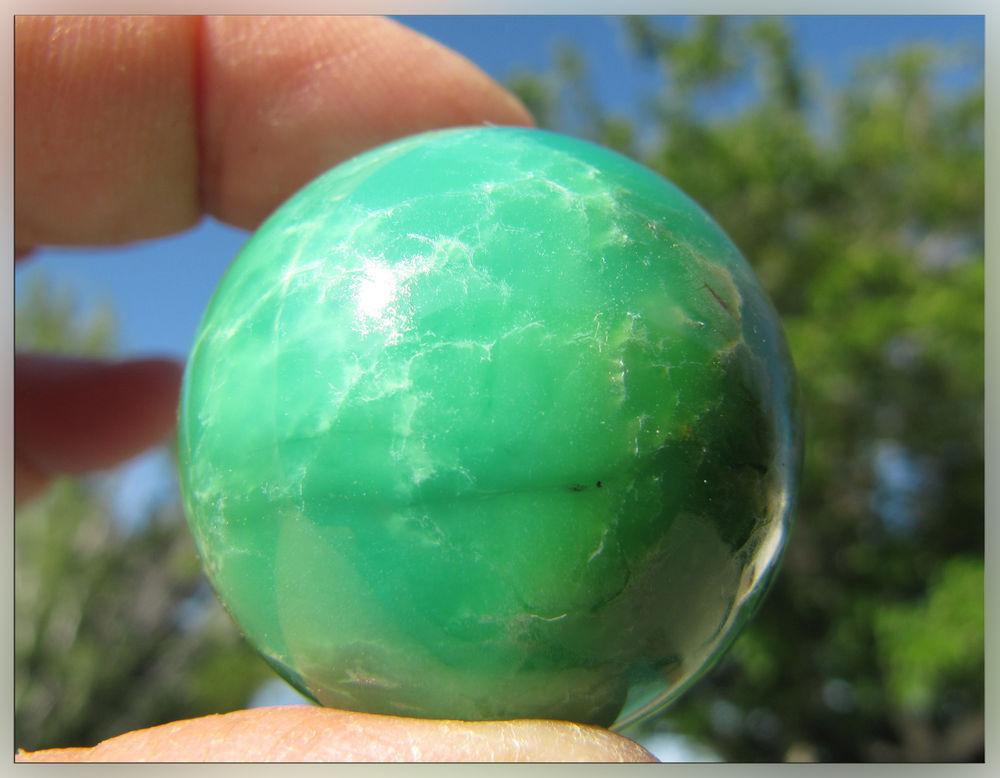 хризопраз, кристаллы