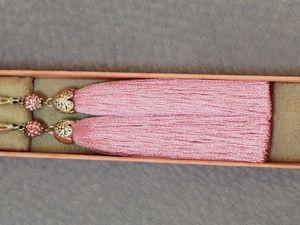 Большие скидки на серьги-кисти. Ярмарка Мастеров - ручная работа, handmade.