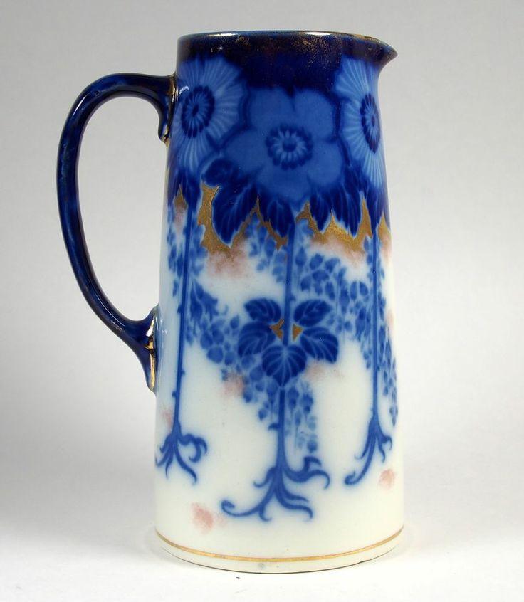 Flow blue — антикварная красота из Англии, фото № 16