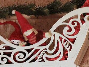 Новый год на пороге | Ярмарка Мастеров - ручная работа, handmade