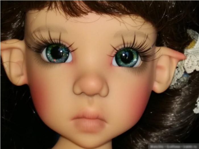 глаза для шарнирной куклы