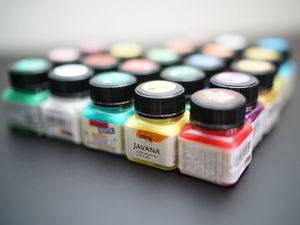 Краска для росписи по ткани Javana Textil. Ярмарка Мастеров - ручная работа, handmade.