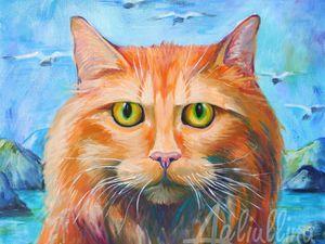 Мотивационный кот   Ярмарка Мастеров - ручная работа, handmade