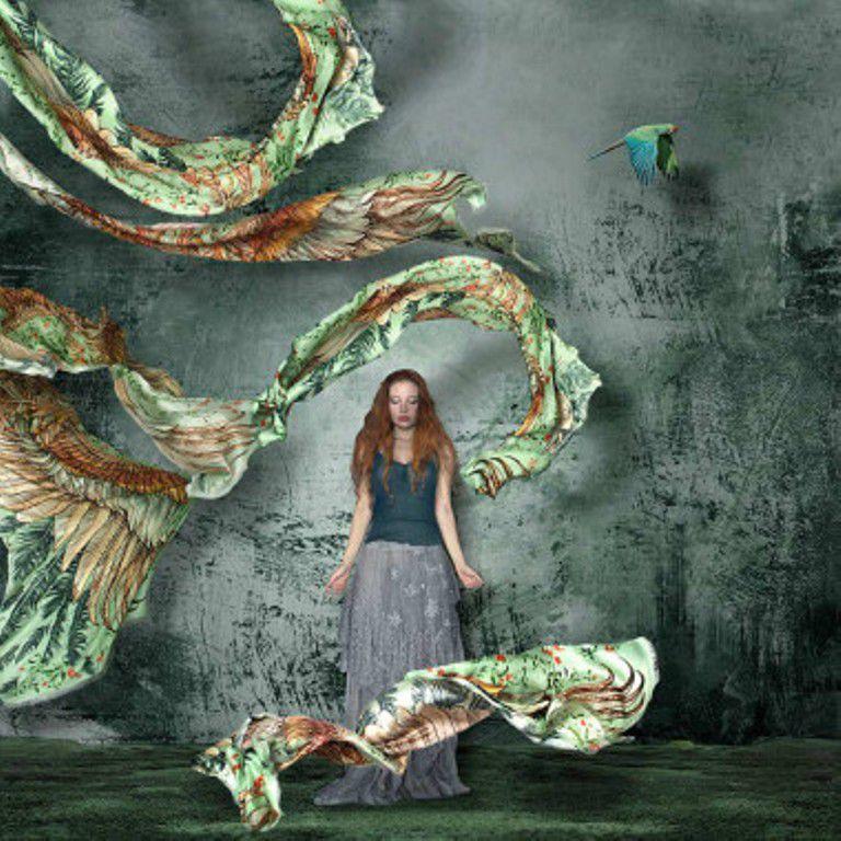 Когда вырастают крылья: завораживающие палантины Розы Хамитовой, фото № 15