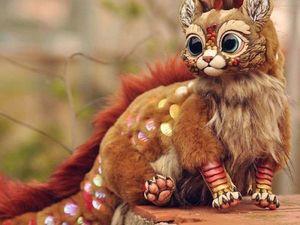 Фантастические существа, созданные скульптором Lisa Toms. Ярмарка Мастеров - ручная работа, handmade.