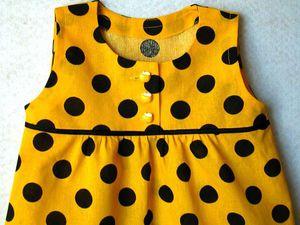 Открывается новая МИНИ-серия платьем Пчелка | Ярмарка Мастеров - ручная работа, handmade