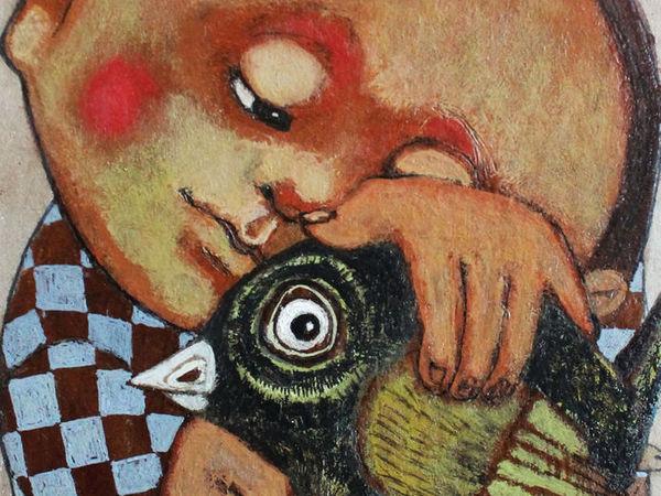 Лотерея в помощь художнику Гору (на его картину) + Копилочка (тема №4) | Ярмарка Мастеров - ручная работа, handmade