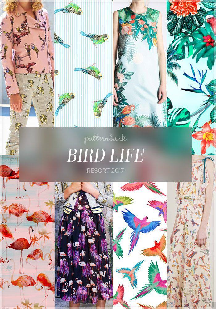 принт с птицами, сумочка с вышивкой, клатч с вышивкой