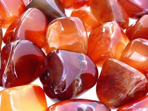 Сердолик – камень счастья и богатства | Ярмарка Мастеров - ручная работа, handmade