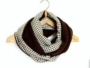 Скидки на шарфы-снуды!. Ярмарка Мастеров - ручная работа, handmade.