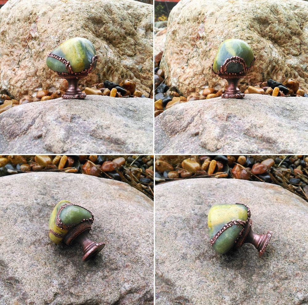 натуральные камни, ручки с самоцветами