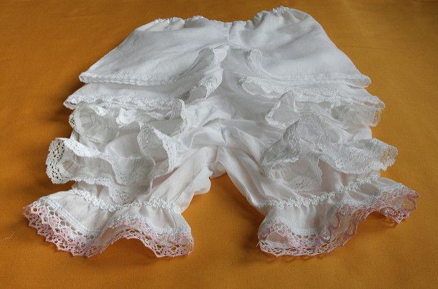 панталоны, панталоны для девочки, батист, кружево, белый