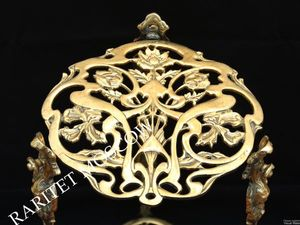 Этажерка жардиньерка подставка стол бронза 3. Ярмарка Мастеров - ручная работа, handmade.