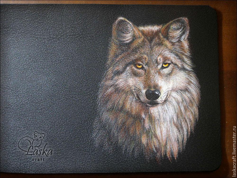 нарисовать волка