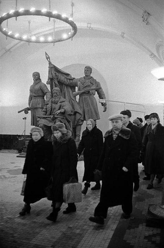 Lessing03 Москва 1958 года в фотографиях Эриха Лессинга