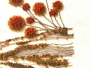 25+ Amazing Bead Embroidery by Kyoko Creation Broderie. Livemaster - handmade