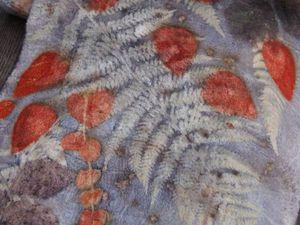 Акция на войлочные шарфы с ботаническими принтами -30% | Ярмарка Мастеров - ручная работа, handmade