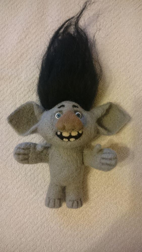кукла ручной работы, игрушки, интерьерная кукла, валяние, шерсть