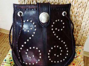 Скидка 25% на авторскую сумочку ручной работы!. Ярмарка Мастеров - ручная работа, handmade.