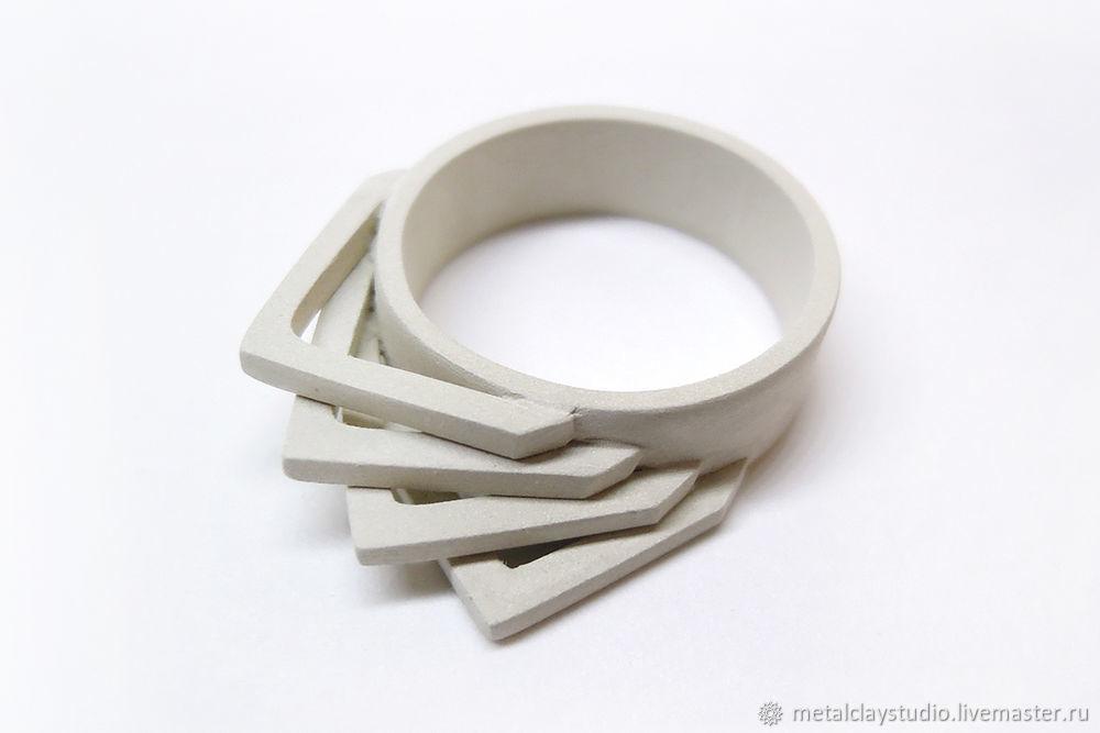 кольцо из глины