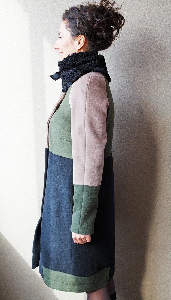 лоскутное пальто