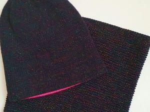 Шикарный комплект из итальянской мериносовой шерсти и льна!!!!!. Ярмарка Мастеров - ручная работа, handmade.