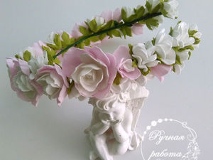 Мастер-класс: цветы из фоамирана для дополнения композиции. Ярмарка Мастеров - ручная работа, handmade.