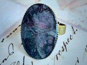 В работе вот такое кольцо, думаю над названием.   Ярмарка Мастеров - ручная работа, handmade