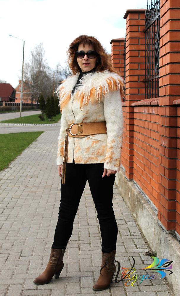 куртка янтарная волна