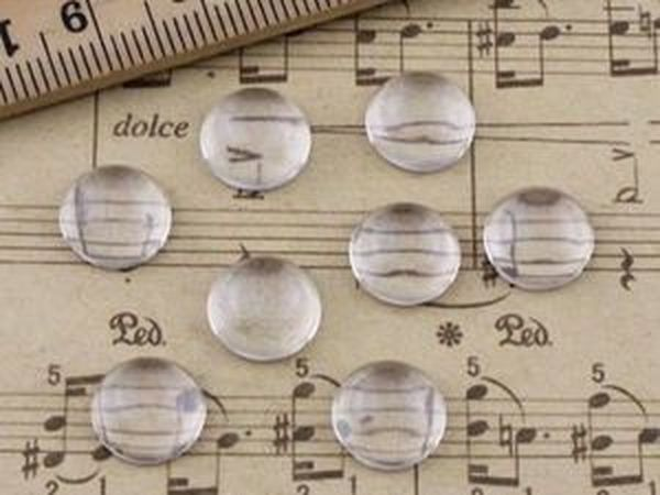 Кабошоны круглые 8 мм. | Ярмарка Мастеров - ручная работа, handmade