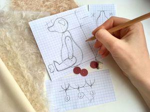 Основные правила построения выкройки мишки Тедди. Ярмарка Мастеров - ручная работа, handmade.