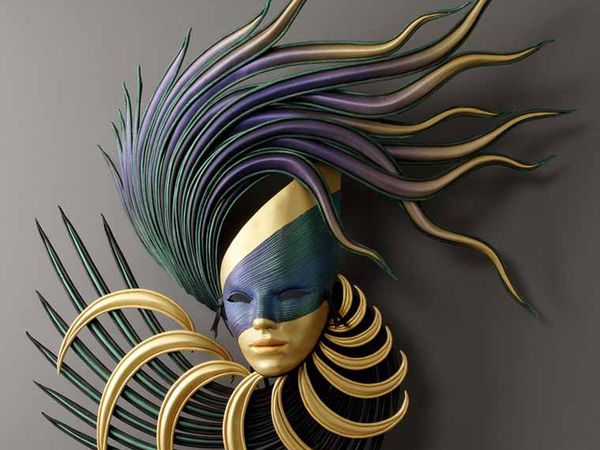 Маска, кто ты? Маски из кожи от художника Michael Taylor | Ярмарка Мастеров - ручная работа, handmade