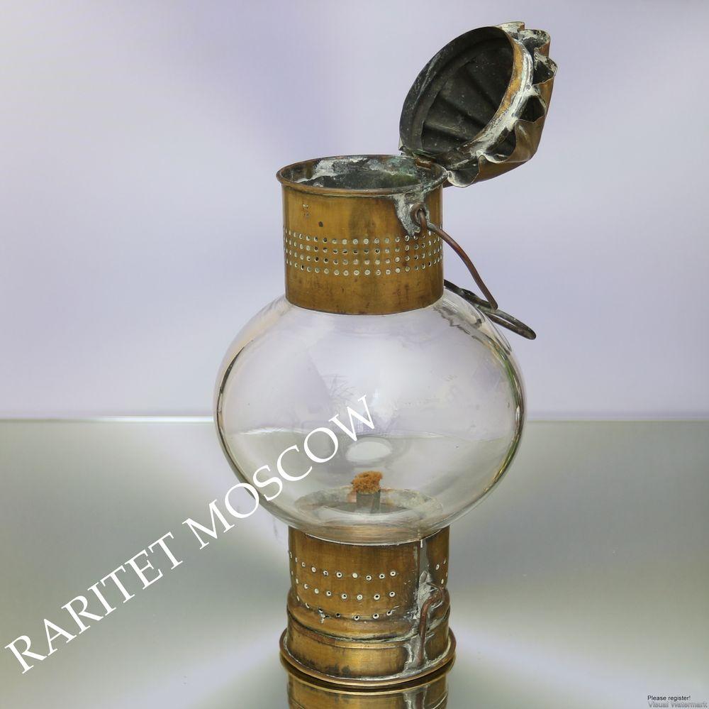 антикварная лампа