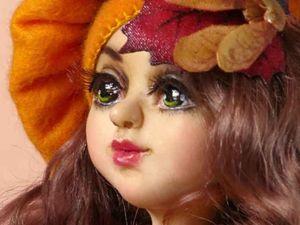 Осенняя Фея Клёнушка! Новая авторская кукла))). Ярмарка Мастеров - ручная работа, handmade.
