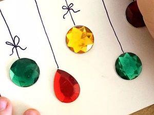 Идеи новогодних поделок, которые можно сделать вместе с детьми. Ярмарка Мастеров - ручная работа, handmade.