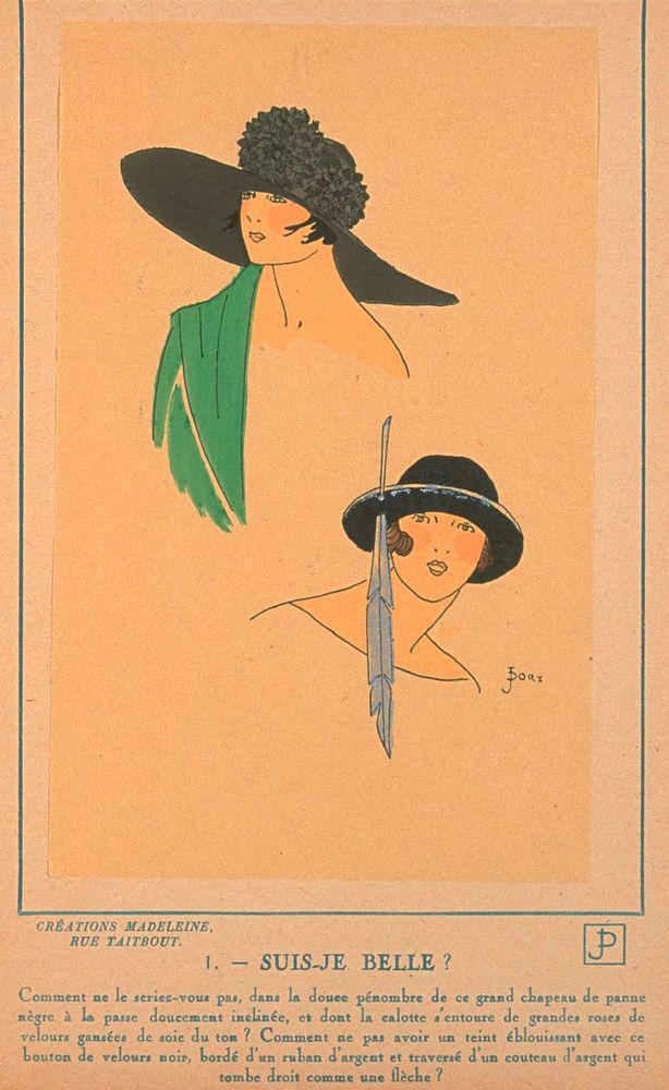 Ах, какие шляпки! Шляпная мода 1922 года по версии французского журнала «Les chapeaux du Tres parisien». Часть 2, фото № 22