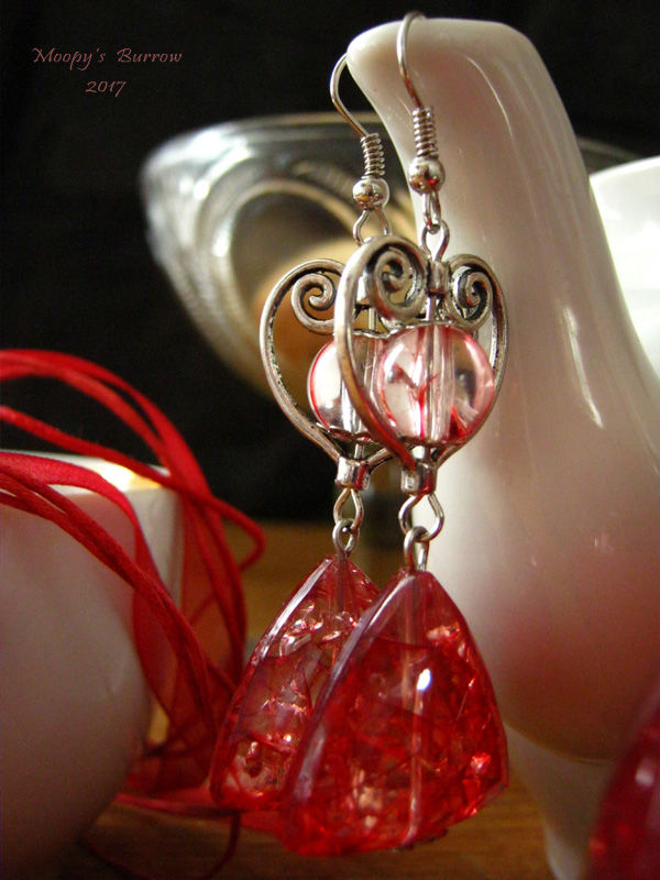 чай, кракле, подарок, сувенир, кулон, колье, красный, бронза
