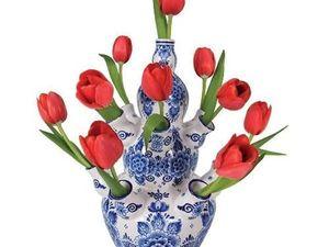 Королевский Дельфт — сине-белая красота родом из XVII века. Ярмарка Мастеров - ручная работа, handmade.
