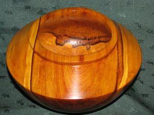 Новая чаша из тополя. Ярмарка Мастеров - ручная работа, handmade.