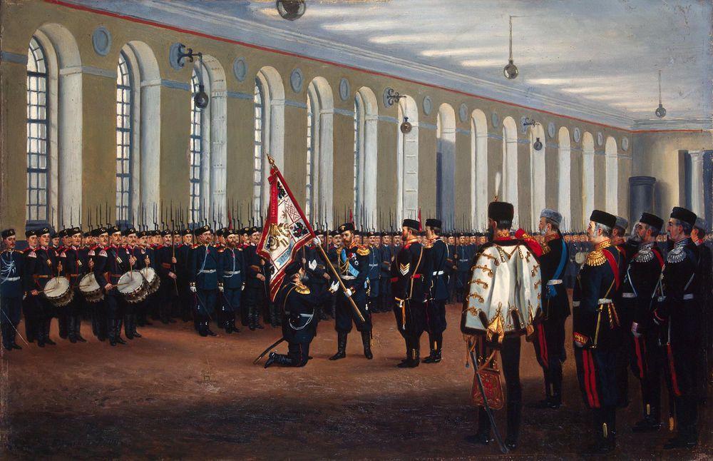 русская история, историческая картина