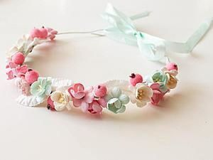 Creating a Flower Wreath for 30 Minutes. Livemaster - handmade