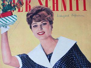 Neuer Schnitt — старый немецкий журнал мод 3/1960. Ярмарка Мастеров - ручная работа, handmade.