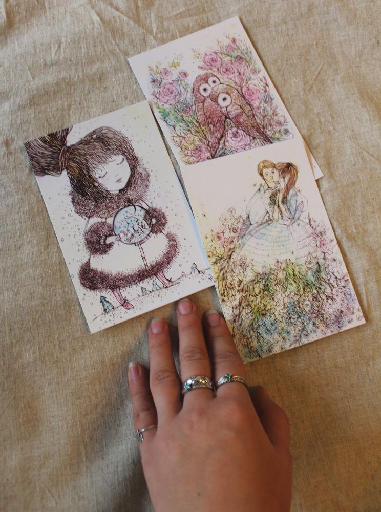 postcard, котики