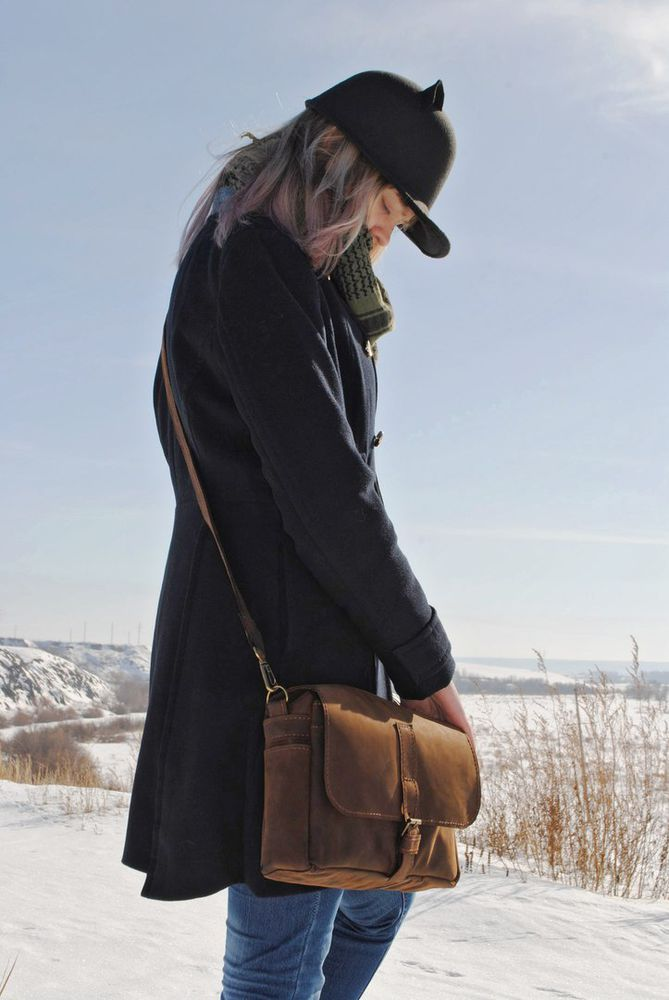 кожаная сумка, тиснение
