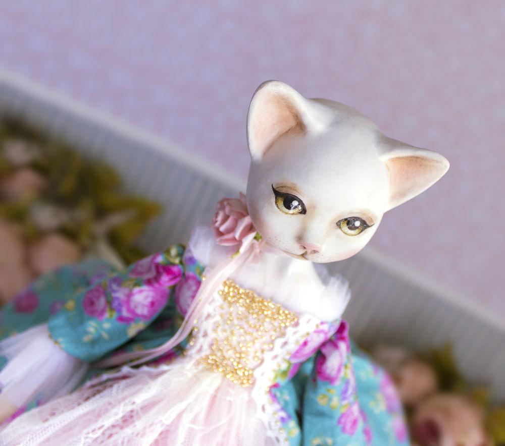 купить куклу кошку, купить дорогой подарок